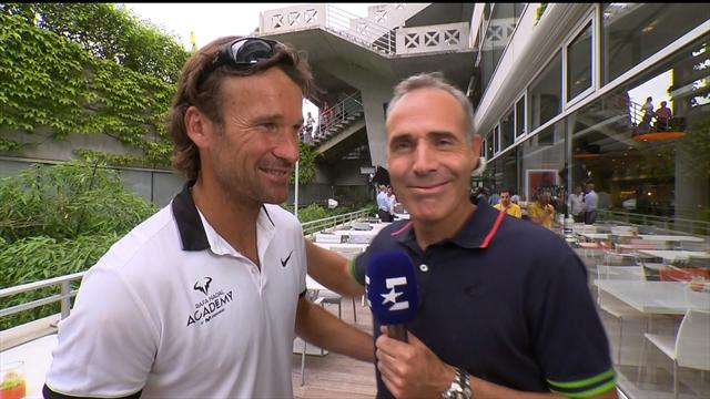 Moya - Rafa gives the impression he can play better