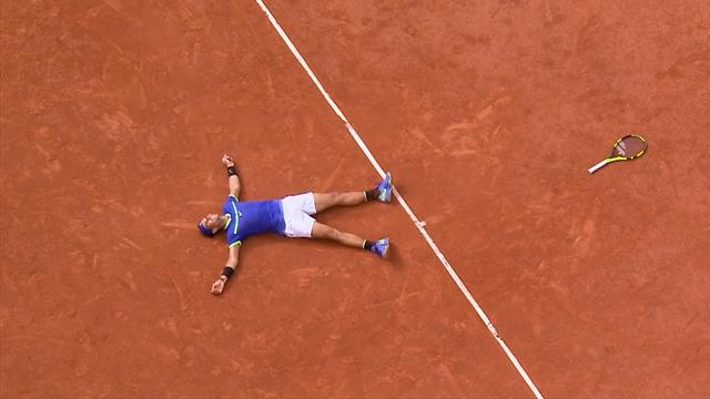 Highlights: tutto il meglio della finale Nadal-Wawrinka in 4 minuti