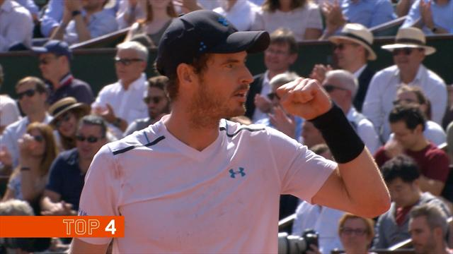 Top 10 Shots: Nadal howitzer, Murray magic and the Stanimal…