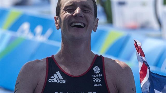 Triathlon: Alistair Brownlee und Duffy gewinnen vierten Lauf der WM-Serie