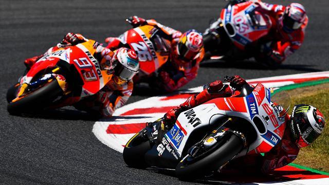 Moto Gp, Andrea Dovizioso e il Ducati Team sbarcano ad Assen