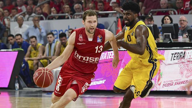 Brose Bamberg wieder deutscher Basketball-Meister