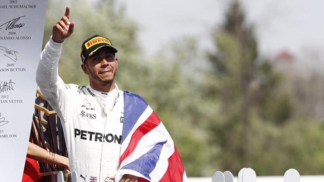 Le pagelle: Hamilton perfetto, buona la rimonta di Vettel, grande gara della Force India