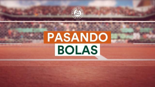 Roland Garros 2017: Pasando Bolas final con el 10 veces campeón Rafa Nadal