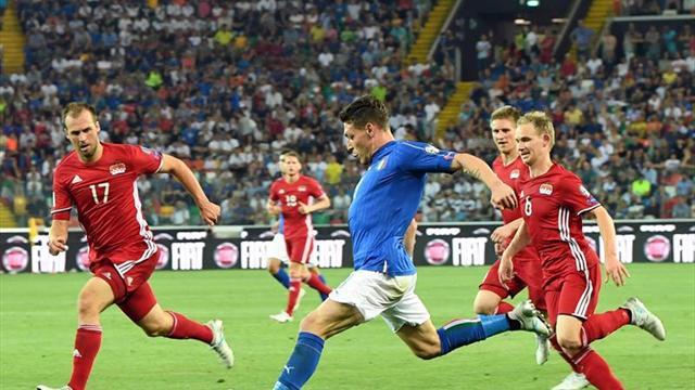 España e Italia ganaron y son líderes del Grupo 7 de Eliminatorias