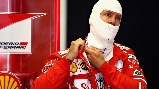 Ferrari, Vettel limita i danni nella domenica dei misteri