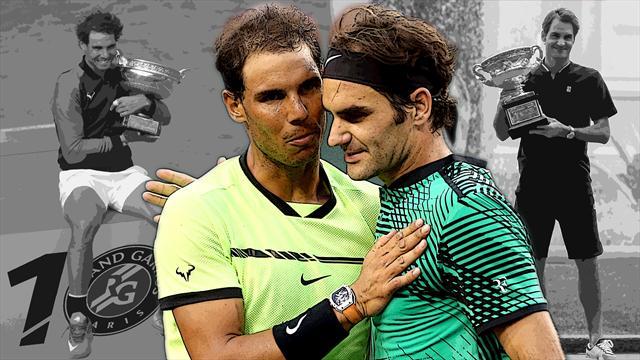Can Nadal topple Federer's Grand Slam record?