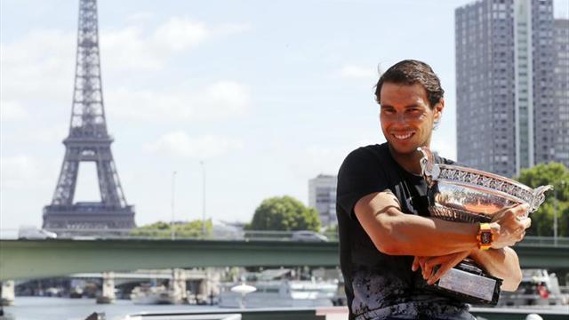 """Nadal, """"le parisien"""""""