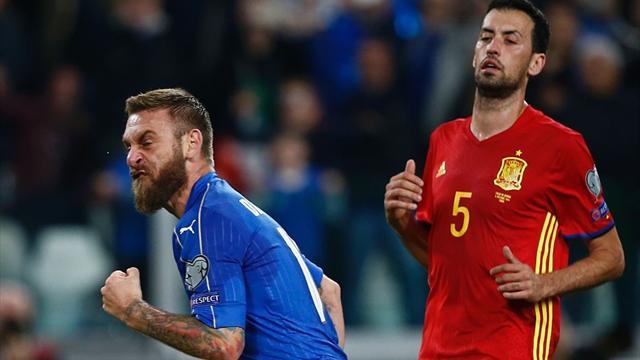 Road to Russia: Italia-Spagna, si decide tutto a Madrid, 100% vittorie per Germania e Svizzera