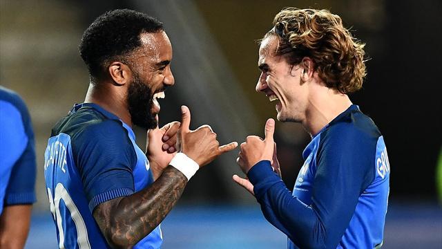 Lacazette : «Je me sens mieux en équipe de France que par le passé»