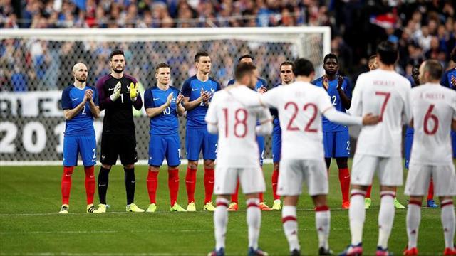 Selecciones de Francia e Inglaterra se enfrentarán en partido amistoso