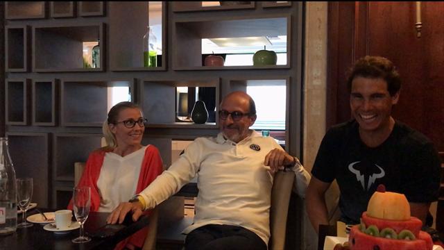 La Décima: La familia, el gran apoyo de Nadal en Roland Garros