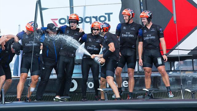 Team New Zealand, vainqueur écrasant de la Coupe de l'America