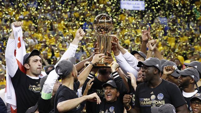 Warriors-Cavs: Durant conquista el anillo y se corona con el MVP (129-120, serie 4-1)