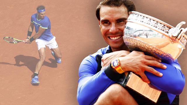Nadal, más cerca del número 1 pese a no jugar tras Roland Garros