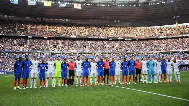 """A l'unisson, le Stade de France tout entier a chanté """"God Save The Queen"""""""