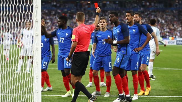 Avec le rouge de Varane, l'arbitrage vidéo a encore fait mal aux Bleus