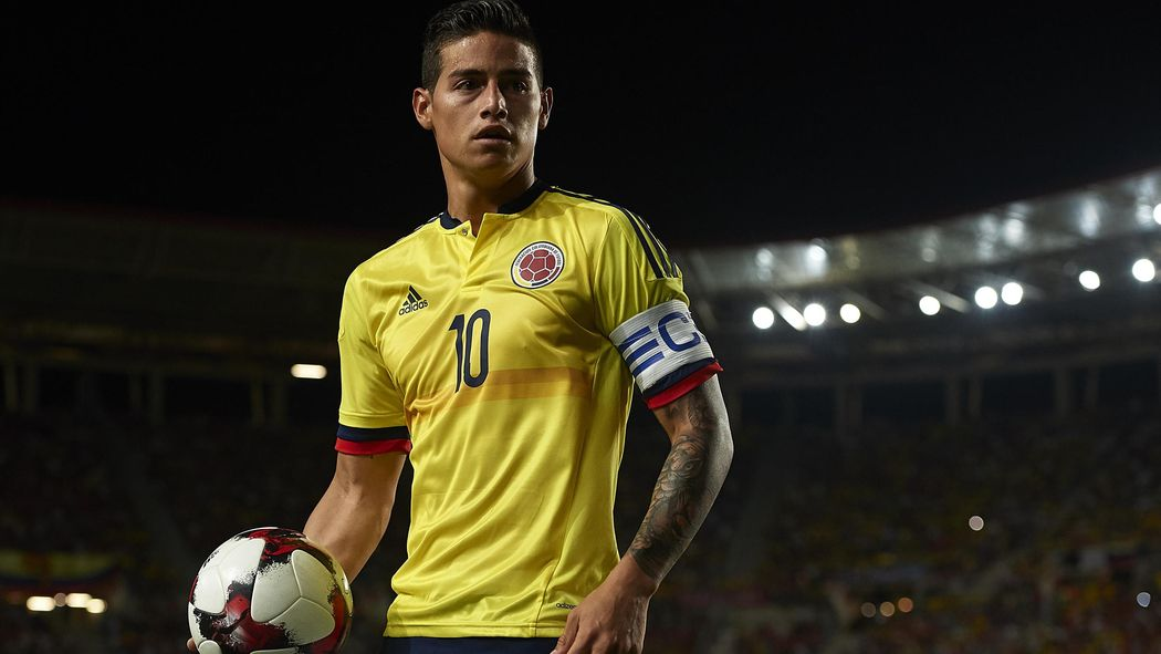 James Rodriguez Out Of Colombia Side To Face Japan World Cup 2018