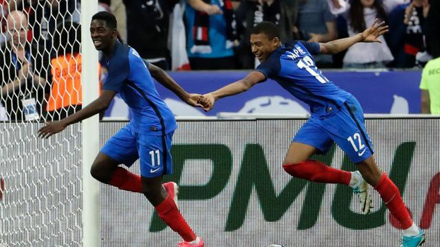 """Mbappé : """"Avec Ousmane, on n'a pas besoin de jouer 10 fois ensemble pour se comprendre"""""""