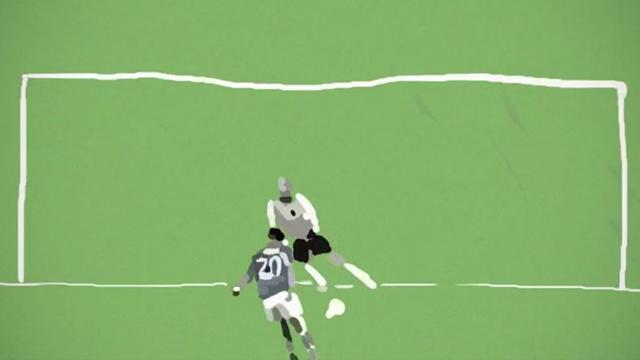 Francesco Totti e la dimensione artistica del cucchiaio