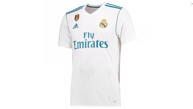 Новая форма «Реала» на сезон-2017/18 с бирюзовыми вставками