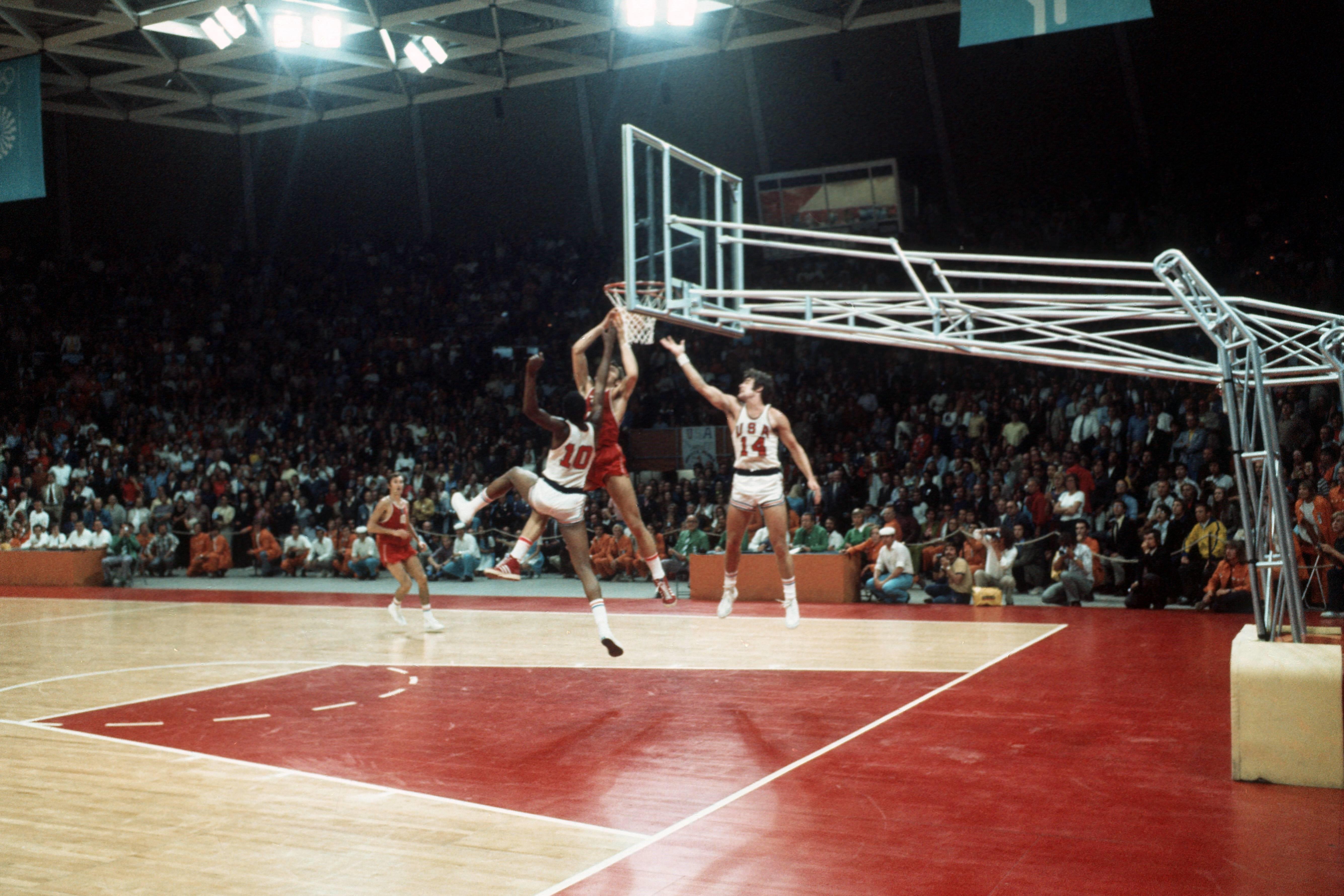 СССР – США в финале Олимпийских игр-1972 в Мюнхене