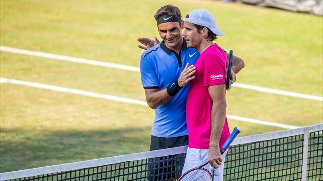 """Federer : """"Plus Tommy était bon et plus j'étais passif"""""""