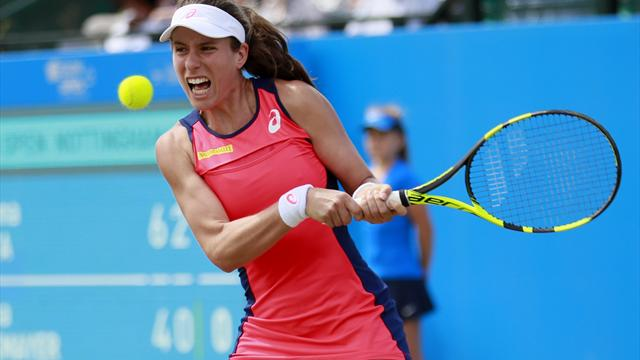 Konta seals place in Aegon Open final with straight sets win over Rybarikova