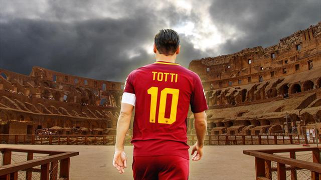 Francesco Totti, io ero qui