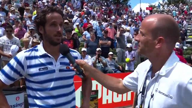 """ATP Stuttgart, Feliciano López: """"He jugado un gran partido, de otra manera no hubiera podido ganar"""""""