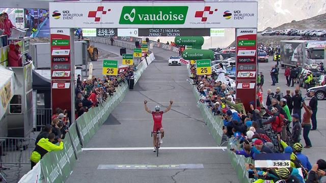 Spilak wins Tour de Suisse Stage 7