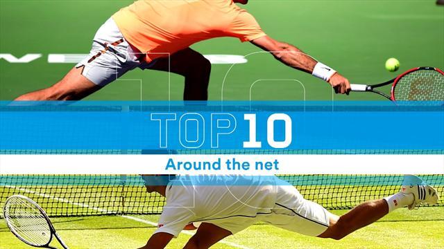 """Top 10: Federer, Nadal e gli altri, quando il tennista """"aggira"""" anche la rete"""