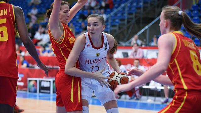 Россия стартовала на женском Евробаскете с победы над Латвией