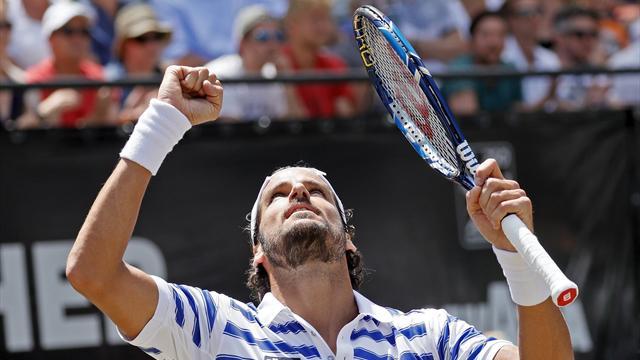 ATP Stuttgart, Mischa Zverev-Feliciano López: La hierba como anillo al dedo (13:45)