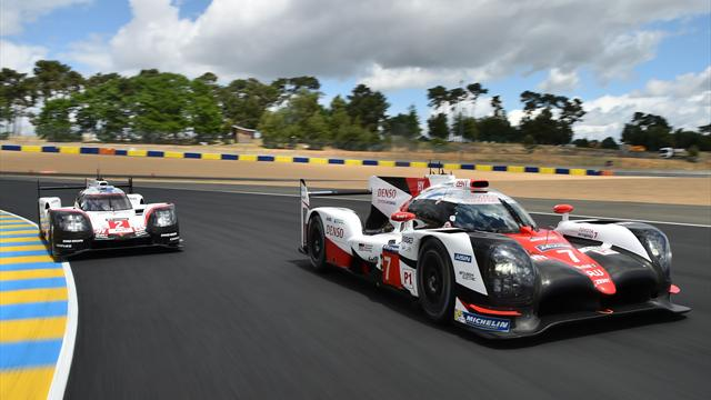 Kobayashi shows class as Toyota settle in as Le Mans leaders