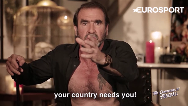 Commissioner Cantona takes aim at Didier Deschamps