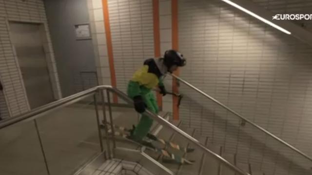 Tennis, sprint ou ski : quand le sport s'invite dans le métro, ça donne un Top 5 atypique