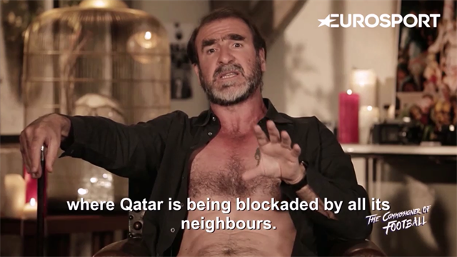 Cantona: Qatar 2022 is 'a diplomatic clusterf**k'