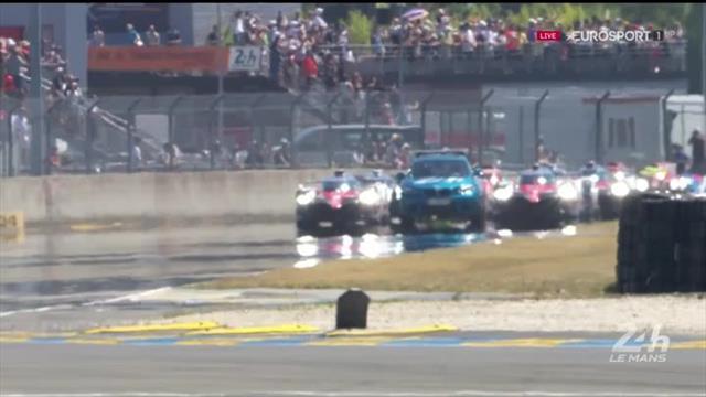 Via alla 24 Ore di Le Mans!