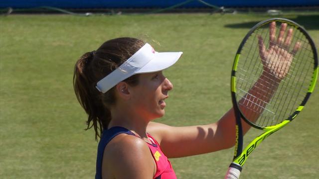 WTA Nottingham: Konta si impone su Rybarikova e va in finale