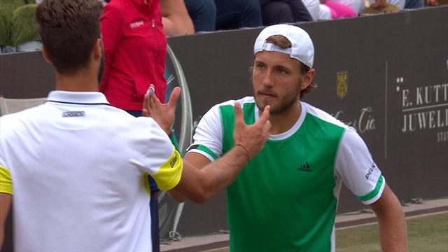 Highlights: Pouille beats Paire in all-French affair in Stuttgart