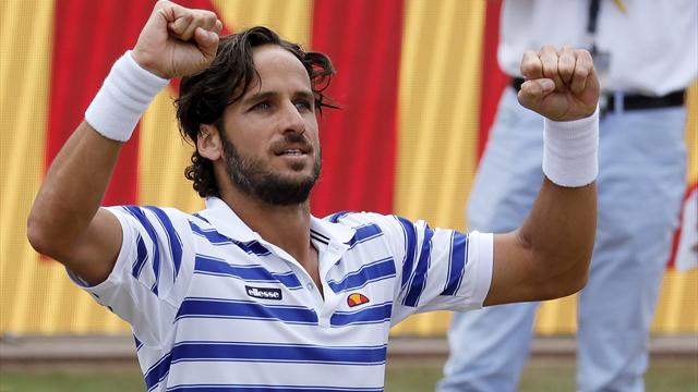ATP Stuttgart, Feliciano López-Lucas Pouille: La gloria pasa por la hierba un año después (13:00)