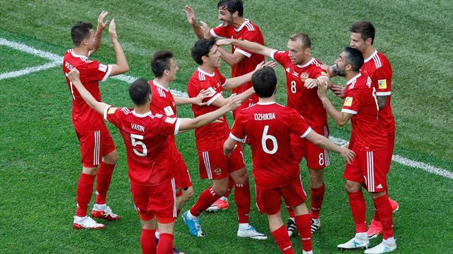 Ev sahibi Rusya, kupaya galibiyetle başladı