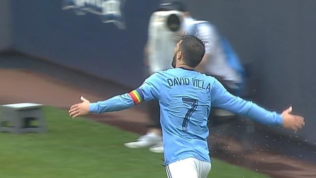 MLS: Villa porta al successo il New York City FC con una doppietta