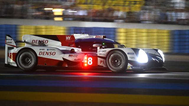 Remaining Toyota sets fastest lap of the race