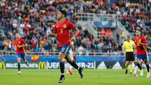 L'Espagne déroule, Asensio régale avec trois éclairs
