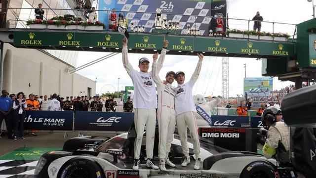 Porsche gana en las 24 Horas de Le Mans