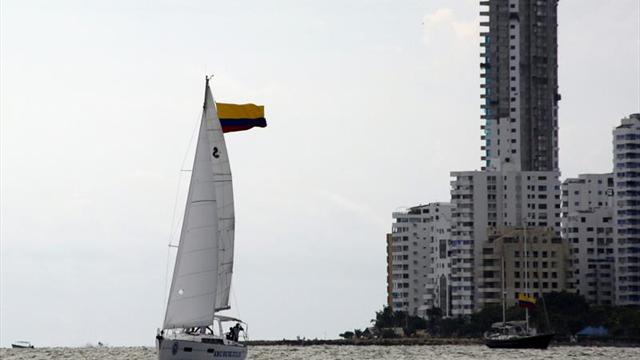 Trece veleros compiten en regata Rally Colombia Soberana 2017