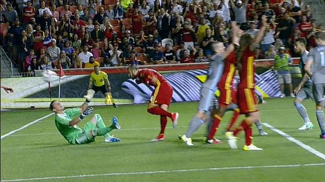 Un but confus a récompensé un Real Salt Lake offensif