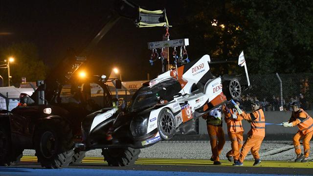 Prosegue la maledizione Toyota alla Le Mans: da favorita a fuori gara dopo 10 ore